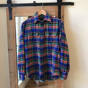 Polo by Ralph Lauren Flannel Plaid button up